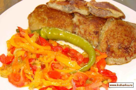 Рецепт Картошка с фаршем