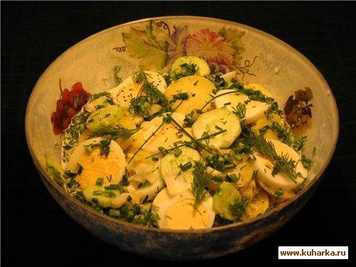Рецепт Вестфальский картофельный салат