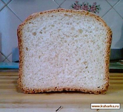 Рецепт Французский хлеб на сыворотке