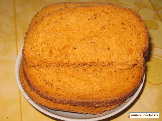 Рецепт Итальянский хлеб с травами и томатной пастой (для хлебопечки)