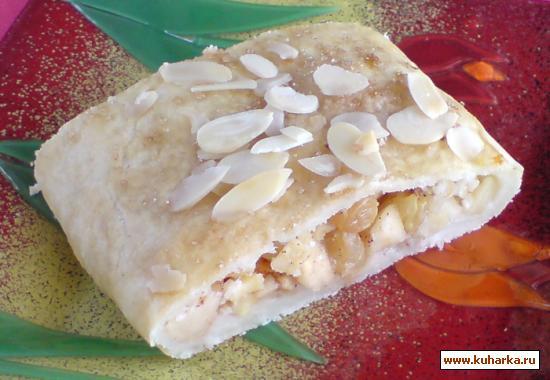 Рецепт Быстрый яблочный струдель