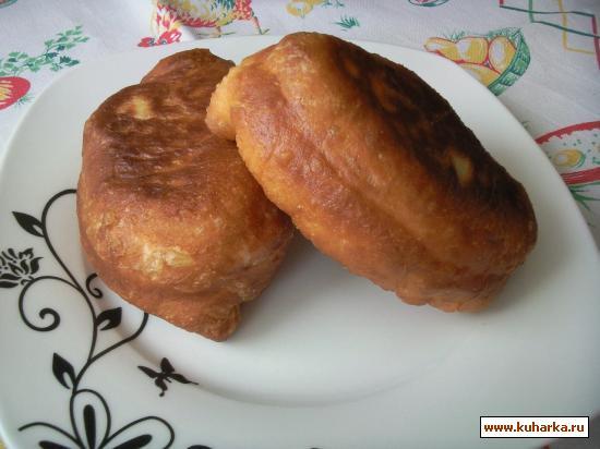 Рецепт Пирожки жареные с картошкой