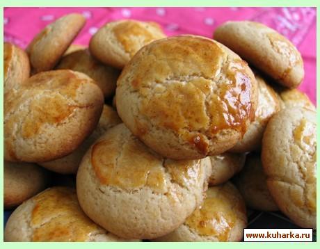 Рецепт Гриба д'асль (Медовое печенье)