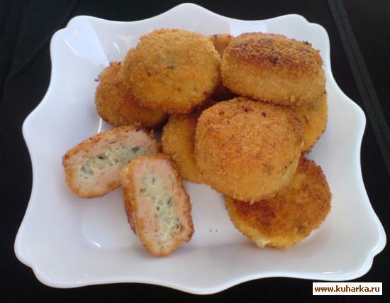Рецепт Котлеты из белой и красной рыбы