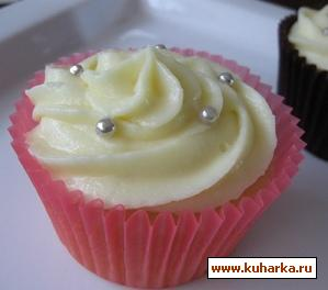 Рецепт Mаслянный крем с белым шоколадом