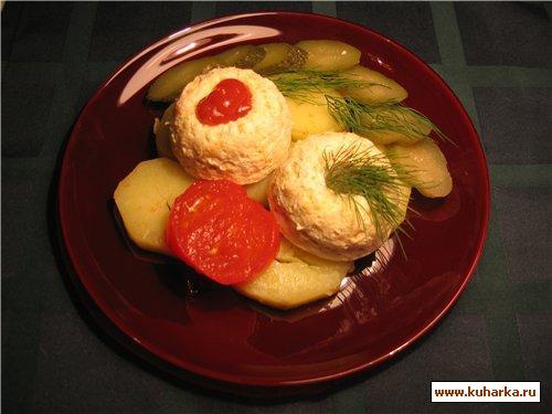 "Рецепт ""Кексики"" из курицы"