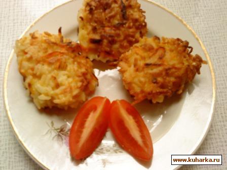 Рецепт Рисово-морковные котлеты