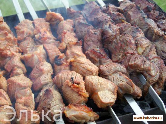 Рецепт Шашлык из говядины