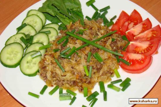 Рецепт Квашеная капуста с овощами