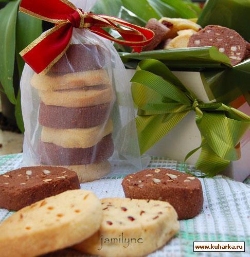 Рецепт Универсальное масляное печенье (Butter Cookies)
