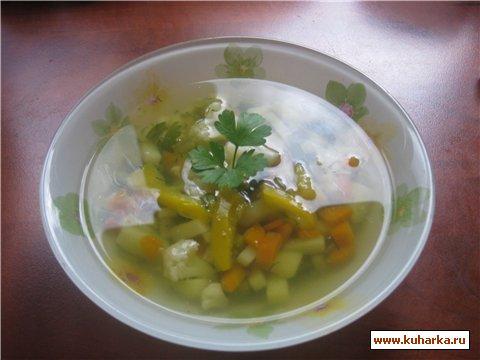 Рецепт Простой овощной суп