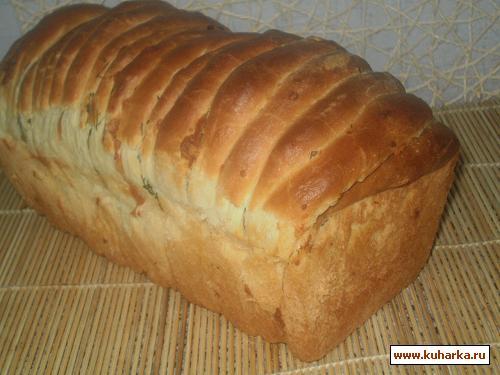 Рецепт Хлеб с сюрпризом