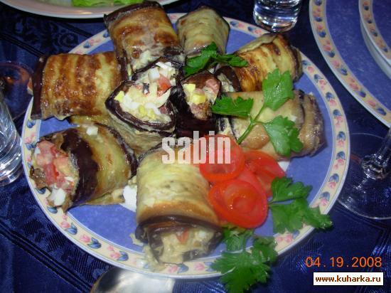 Блюда из баклажанов с пошаговымом