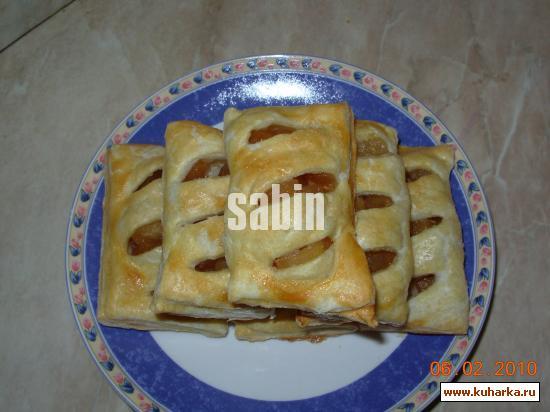 Рецепт Слоеные кармашки