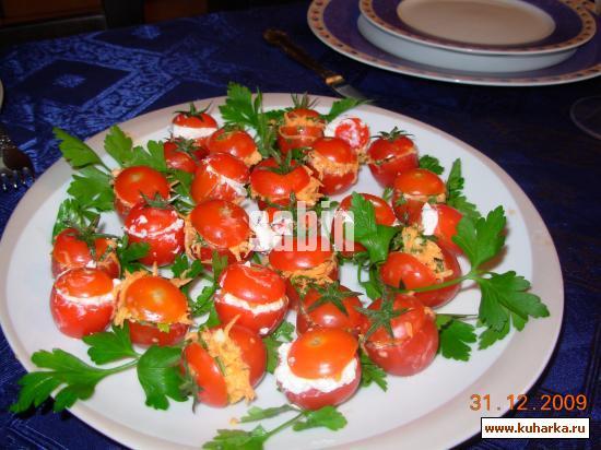 Рецепт Помидоры фаршированные морковью