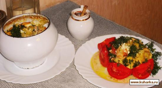 Рецепт Куриное филе тушеное с кабачками
