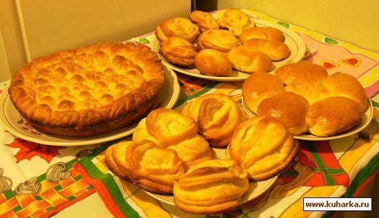 Рецепт Дрожжевое тесто для выпечки в духовке
