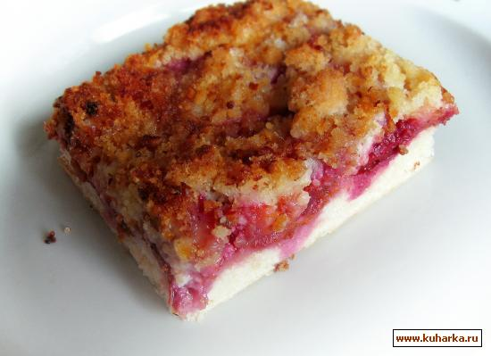 Рецепт Сливовый пирог (из Баварии)
