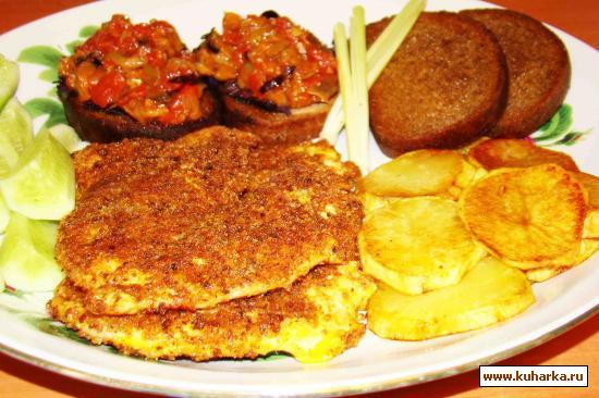 Рецепт Овощные бутерброды для закуски