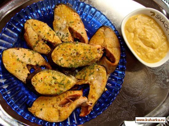 Рецепт Лосось с индийскими специями