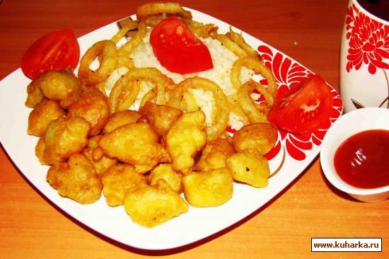 Рецепт Куриное мясо в кляре