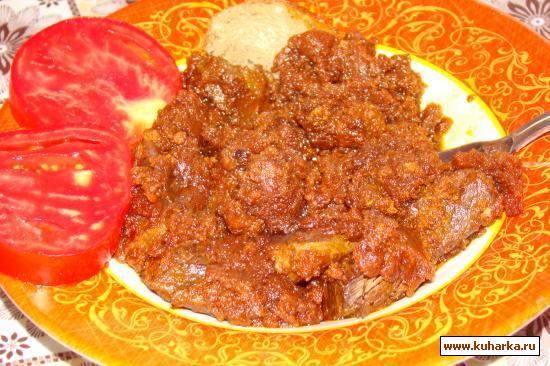 Рецепт Кисло-сладкое мясо