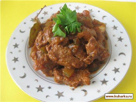 Рецепт Азу по - татарски