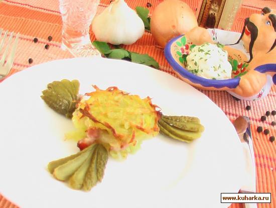 Рецепт Картофельная драчена (бабка)