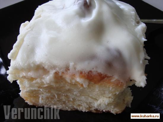 Рецепт Американские булочки с корицей (Cinnamon rolls)