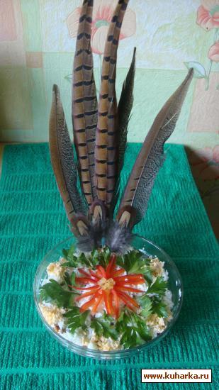 Рецепт Салат из фазана
