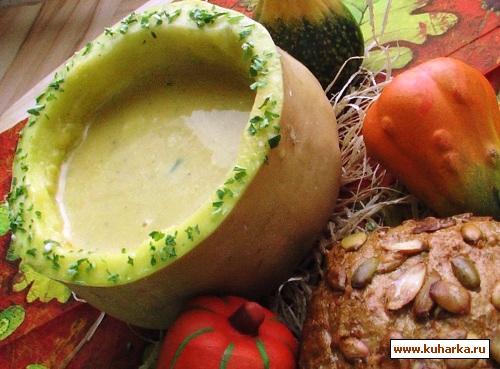 Рецепт Кремовый суп из тыквы