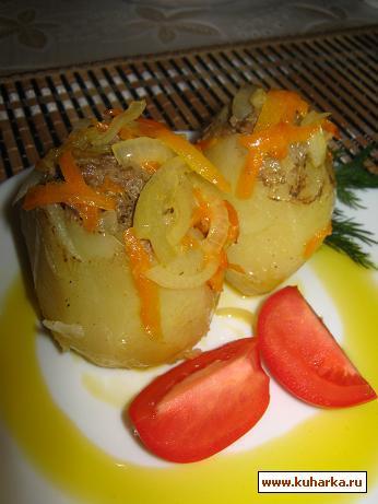 Рецепт Картофельные зразы с фаршем