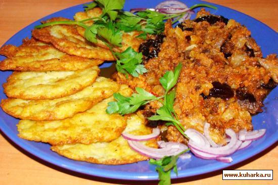 Рецепт Вареное мясо в кисло-сладком соусе
