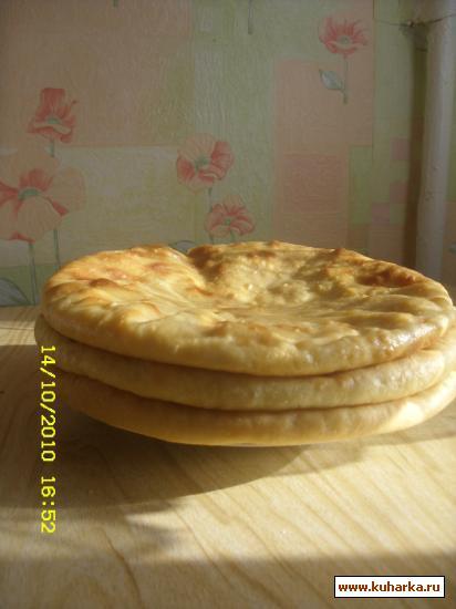 Рецепт Осетинские пироги(из картофеля и сыра картофджын)
