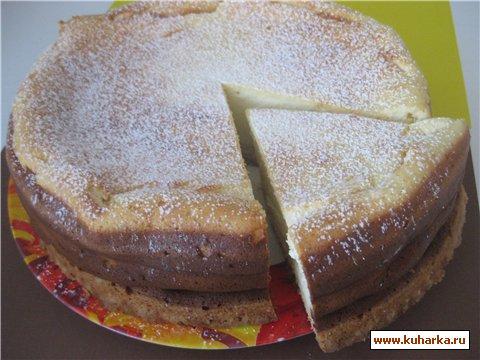 Рецепт Бельгийский творожный бисквит