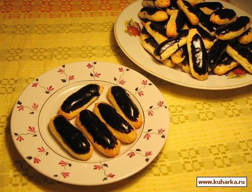 """Рецепт Заварное печенье с сыром """"Десерт Фландрии"""""""