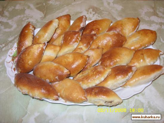 Рецепт Пирожки из быстрого теста