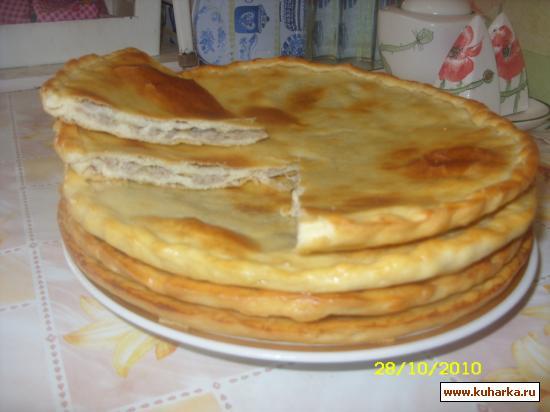 Рецепт Чуду с картофелем и мясом