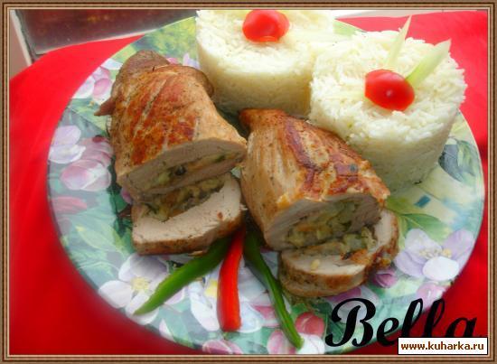 Рецепт Фаршированное филе свинины