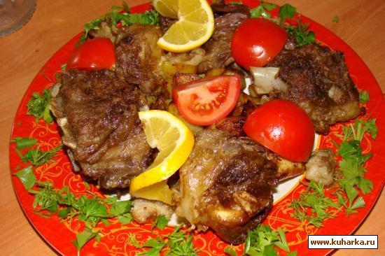 Рецепт Ковурма из больших костистых кусков
