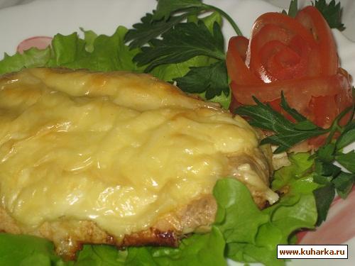 Рецепт Мясо в омлетной шубке