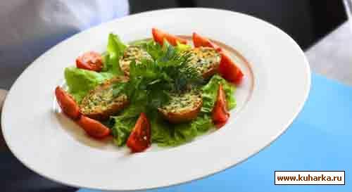 Рецепт Закуска в скорлупках