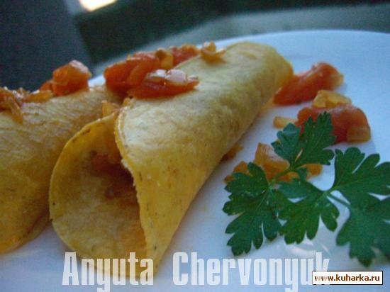 Рецепт Куриная энчилада (Enchiladas de pollo)