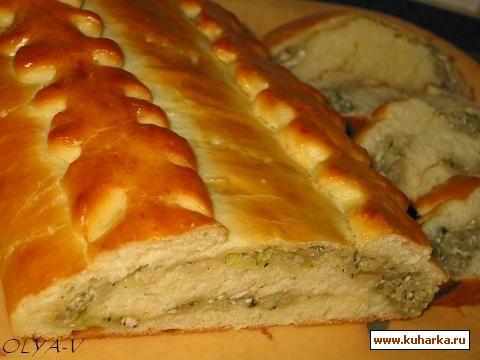 Рецепт Кулебяка с капустой
