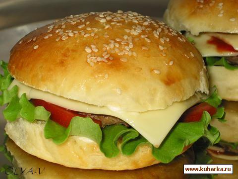 Рецепт Гамбургеры по-домашнему