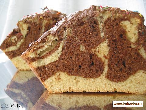 Рецепт Мраморный мини-кекс