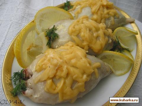 Рецепт Кальмары фаршированные грибами