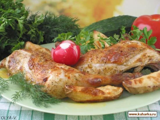 Рецепт Курица в йогуртовом маринаде
