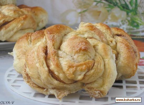 Рецепт Витые булочки с корицей