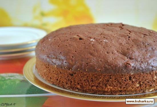 Рецепт Шоколадно-свекольный пирог